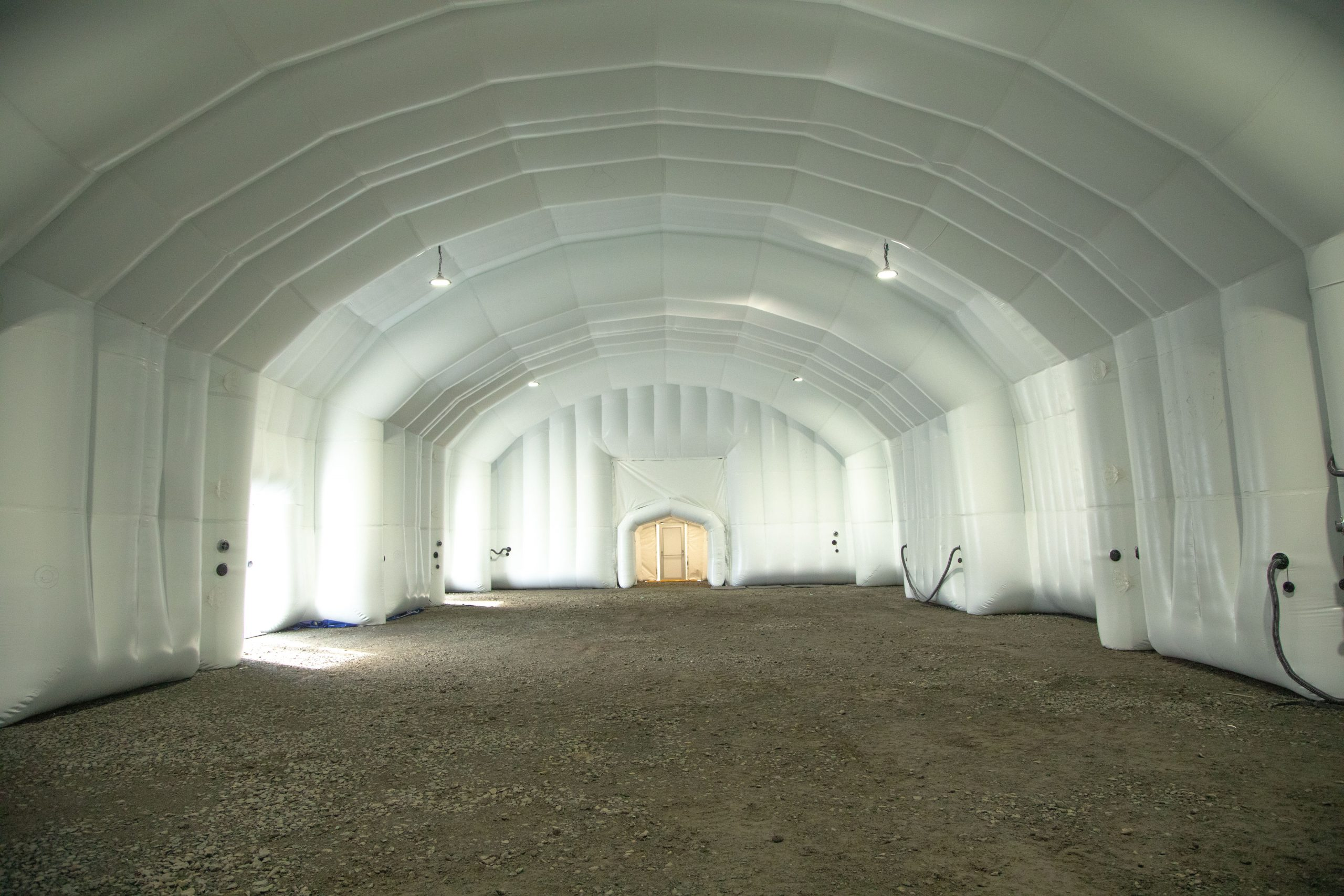 Inflatable structure - interior