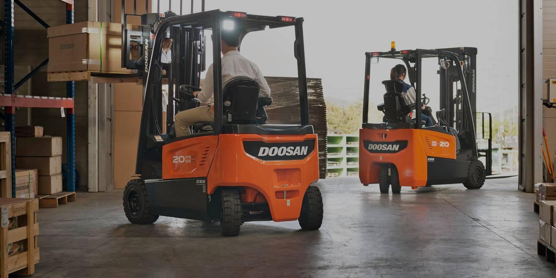 Material Handling Doosan forklift